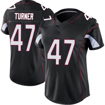 Women's Nike Arizona Cardinals Zeke Turner Black Vapor Untouchable Jersey - Limited