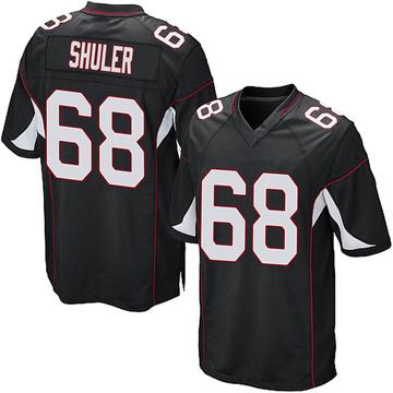 Youth Nike Arizona Cardinals Adam Shuler Black Alternate Jersey - Game
