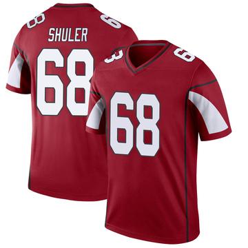 Youth Nike Arizona Cardinals Adam Shuler Cardinal Jersey - Legend