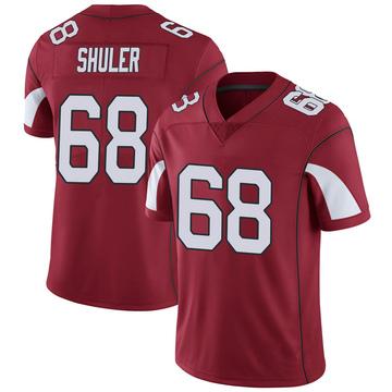 Youth Nike Arizona Cardinals Adam Shuler Cardinal Team Color Vapor Untouchable Jersey - Limited