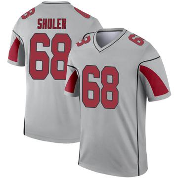 Youth Nike Arizona Cardinals Adam Shuler Inverted Silver Jersey - Legend