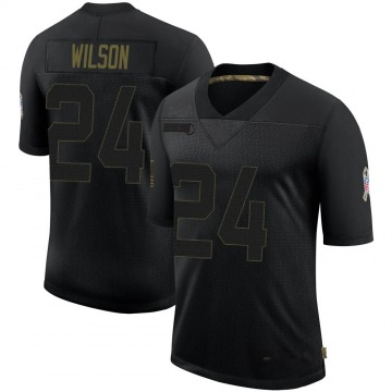 Youth Nike Arizona Cardinals Adrian Wilson Black 2020 Salute To Service Jersey - Limited