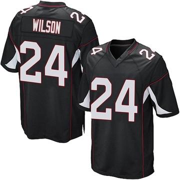 Youth Nike Arizona Cardinals Adrian Wilson Black Alternate Jersey - Game