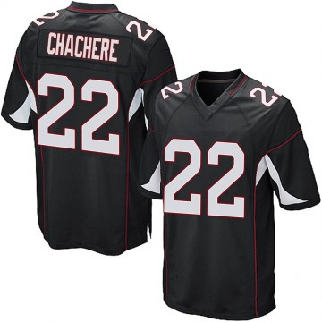 Youth Nike Arizona Cardinals Andre Chachere Black Alternate Jersey - Game
