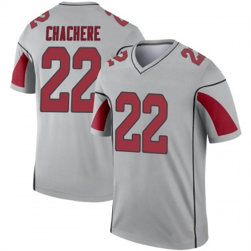 Youth Nike Arizona Cardinals Andre Chachere Inverted Silver Jersey - Legend
