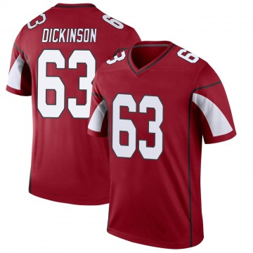 Youth Nike Arizona Cardinals Andrew Dickinson Cardinal Jersey - Legend