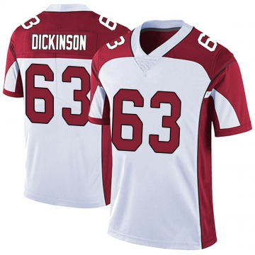 Youth Nike Arizona Cardinals Andrew Dickinson White Vapor Untouchable Jersey - Limited