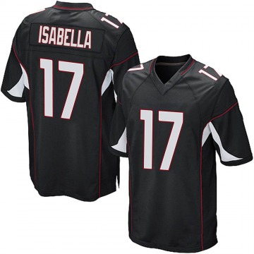 Youth Nike Arizona Cardinals Andy Isabella Black Alternate Jersey - Game