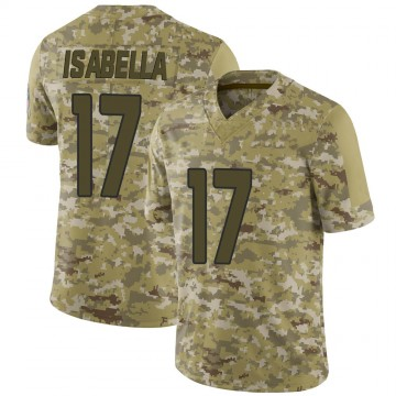 Youth Nike Arizona Cardinals Andy Isabella Camo 2018 Salute to Service Jersey - Limited