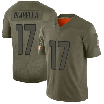 Youth Nike Arizona Cardinals Andy Isabella Camo 2019 Salute to Service Jersey - Limited