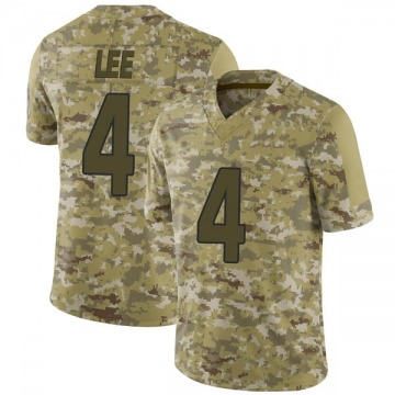 Youth Nike Arizona Cardinals Andy Lee Camo 2018 Salute to Service Jersey - Limited