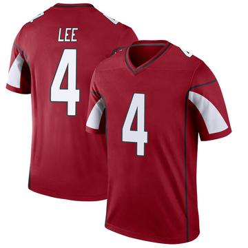 Youth Nike Arizona Cardinals Andy Lee Cardinal Jersey - Legend