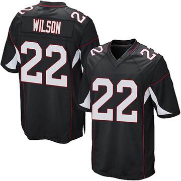 Youth Nike Arizona Cardinals Bejour Wilson Black Alternate Jersey - Game