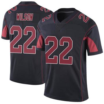 Youth Nike Arizona Cardinals Bejour Wilson Black Color Rush Vapor Untouchable Jersey - Limited