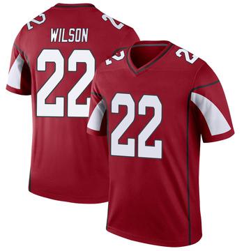 Youth Nike Arizona Cardinals Bejour Wilson Cardinal Jersey - Legend
