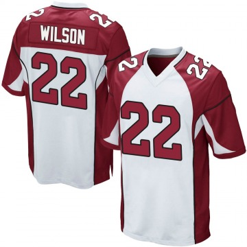 Youth Nike Arizona Cardinals Bejour Wilson White Jersey - Game