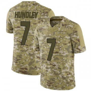 Youth Nike Arizona Cardinals Brett Hundley Camo 2018 Salute to Service Jersey - Limited