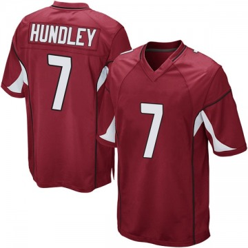 Youth Nike Arizona Cardinals Brett Hundley Cardinal Team Color Jersey - Game