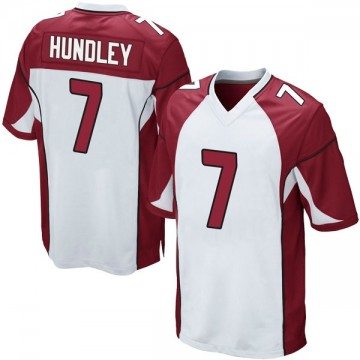Youth Nike Arizona Cardinals Brett Hundley White Jersey - Game