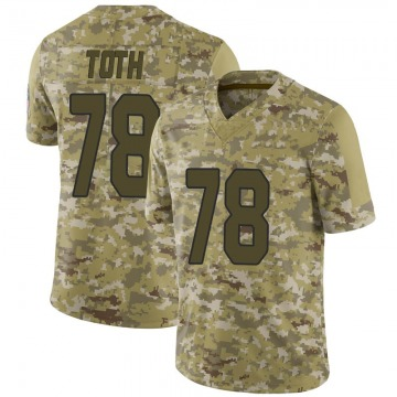Youth Nike Arizona Cardinals Brett Toth Camo 2018 Salute to Service Jersey - Limited