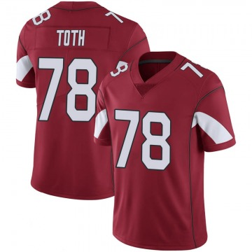 Youth Nike Arizona Cardinals Brett Toth Cardinal 100th Vapor Jersey - Limited