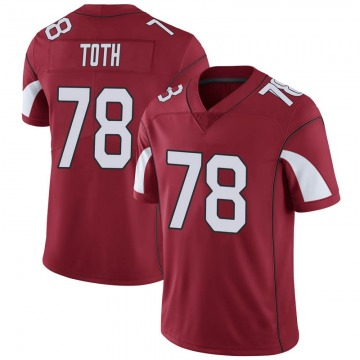 Youth Nike Arizona Cardinals Brett Toth Cardinal Team Color Vapor Untouchable Jersey - Limited