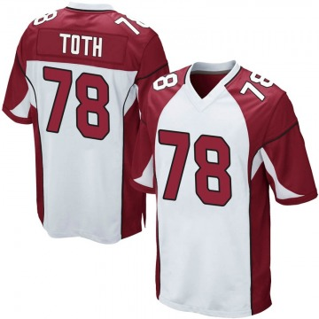 Youth Nike Arizona Cardinals Brett Toth White Jersey - Game