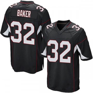 Youth Nike Arizona Cardinals Budda Baker Black Alternate Jersey - Game
