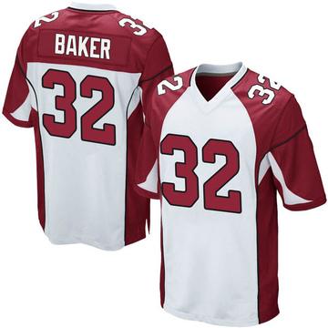 Youth Nike Arizona Cardinals Budda Baker White Jersey - Game