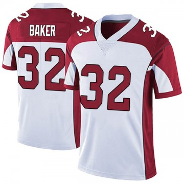 Youth Nike Arizona Cardinals Budda Baker White Vapor Untouchable Jersey - Limited