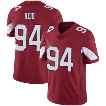 Youth Nike Arizona Cardinals Caraun Reid Cardinal 100th Vapor Jersey - Limited