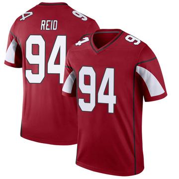Youth Nike Arizona Cardinals Caraun Reid Cardinal Jersey - Legend