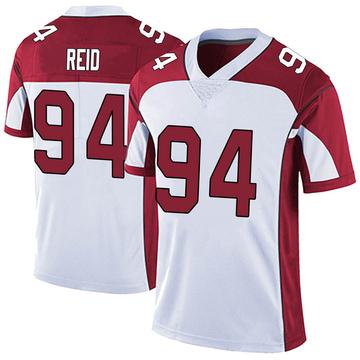 Youth Nike Arizona Cardinals Caraun Reid White Vapor Untouchable Jersey - Limited