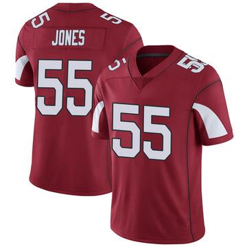 Youth Nike Arizona Cardinals Chandler Jones Cardinal Team Color Vapor Untouchable Jersey - Limited