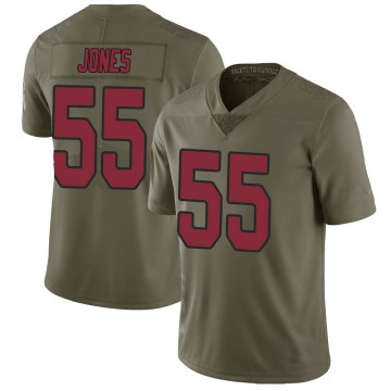 Youth Nike Arizona Cardinals Chandler Jones Green 2017 Salute to Service Jersey - Limited