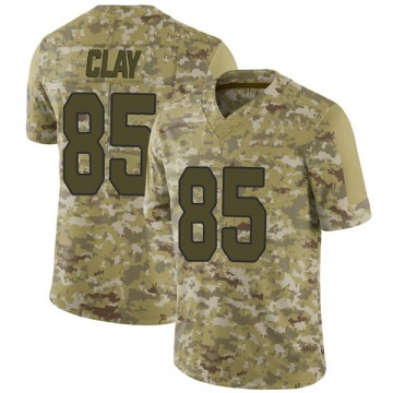 Youth Nike Arizona Cardinals Charles Clay Camo 2018 Salute to Service Jersey - Limited