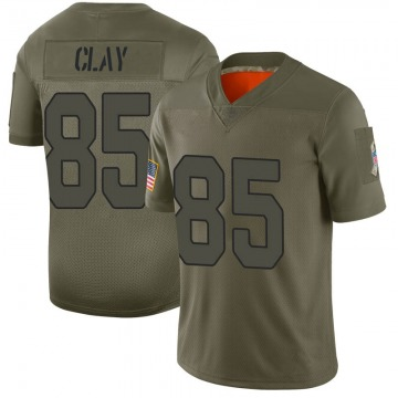 Youth Nike Arizona Cardinals Charles Clay Camo 2019 Salute to Service Jersey - Limited