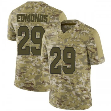 Youth Nike Arizona Cardinals Chase Edmonds Camo 2018 Salute to Service Jersey - Limited