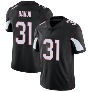 Youth Nike Arizona Cardinals Chris Banjo Black Vapor Untouchable Jersey - Limited