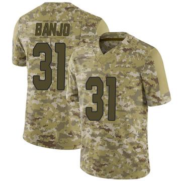 Youth Nike Arizona Cardinals Chris Banjo Camo 2018 Salute to Service Jersey - Limited