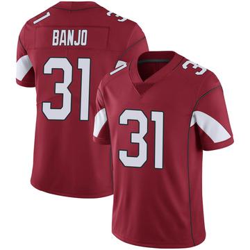 Youth Nike Arizona Cardinals Chris Banjo Cardinal 100th Vapor Jersey - Limited