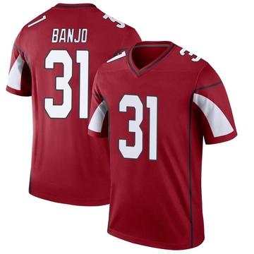 Youth Nike Arizona Cardinals Chris Banjo Cardinal Jersey - Legend