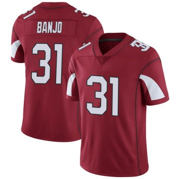 Youth Nike Arizona Cardinals Chris Banjo Cardinal Team Color Vapor Untouchable Jersey - Limited