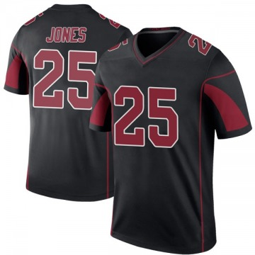 Youth Nike Arizona Cardinals Chris Jones Black Color Rush Jersey - Legend