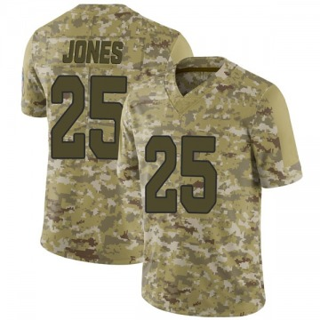 Youth Nike Arizona Cardinals Chris Jones Camo 2018 Salute to Service Jersey - Limited