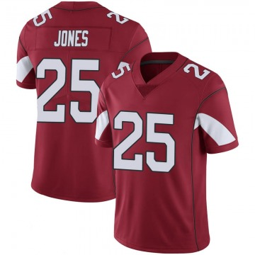Youth Nike Arizona Cardinals Chris Jones Cardinal 100th Vapor Jersey - Limited