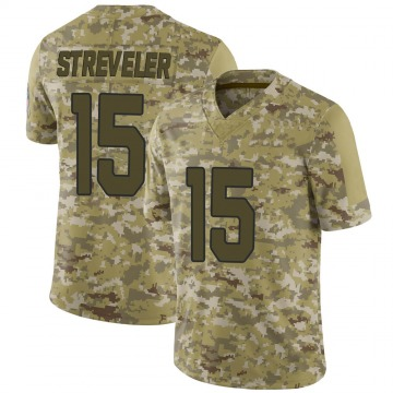 Youth Nike Arizona Cardinals Chris Streveler Camo 2018 Salute to Service Jersey - Limited