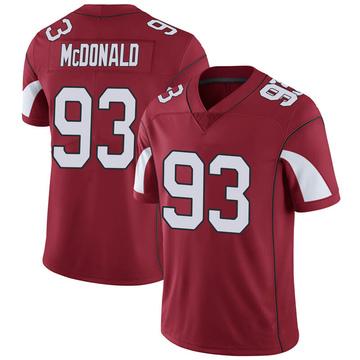 Youth Nike Arizona Cardinals Clinton McDonald Cardinal Team Color Vapor Untouchable Jersey - Limited