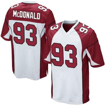 Youth Nike Arizona Cardinals Clinton McDonald White Jersey - Game