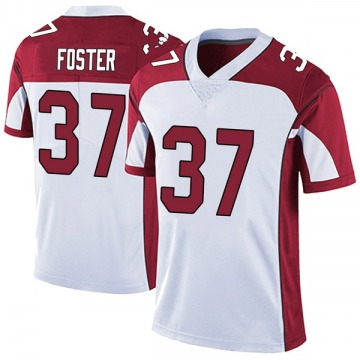 Youth Nike Arizona Cardinals D.J. Foster White Vapor Untouchable Jersey - Limited
